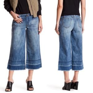 Dance & Marvel cropped high waisted jeans